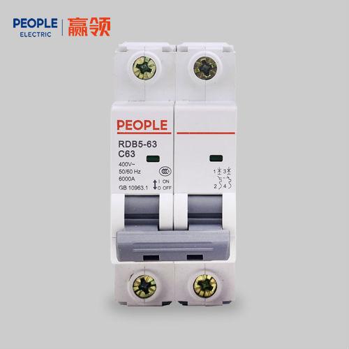 中国人民电器RDB5系列小型断路器家用空气开关漏电保护