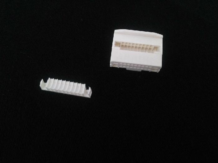 东莞厂家供应汽车导航车载音响连接器护套1318747-1 丰田日产24P带扣公壳