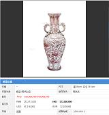釉裏紅瓷器價格升值前景不可限量最新市場價格價位萬豐國際