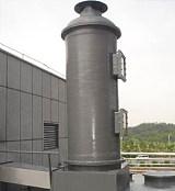 玻璃钢FRP酸性气体吸收塔;