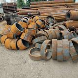 山东无缝钢管零割零卖十公分起订大吨位优惠力度大大钢厂产品质量保证
