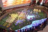 合肥万达文化旅游城高科技沙盘模型;