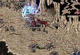 传奇176中的娱乐休闲游戏玩家道士没有其他召唤兽,骷髅也能给力