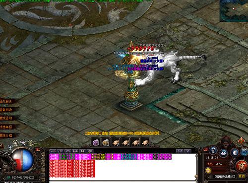 1.76精品传奇游戏中前期地图掉落装备图文攻略分享