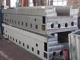 大型机床床身铸件采用树脂砂、消失模铸造耐磨性与消震性好