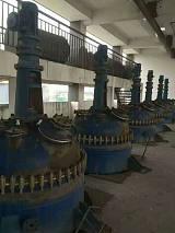 闲置100升---20000升搪瓷,不锈钢电加热反应釜库存100台